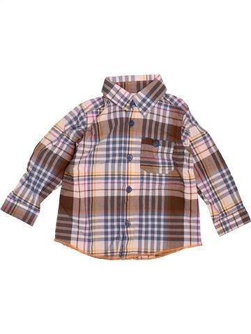 Chemise manches longues garçon PETIT BATEAU rose 18 mois hiver #1511725_1