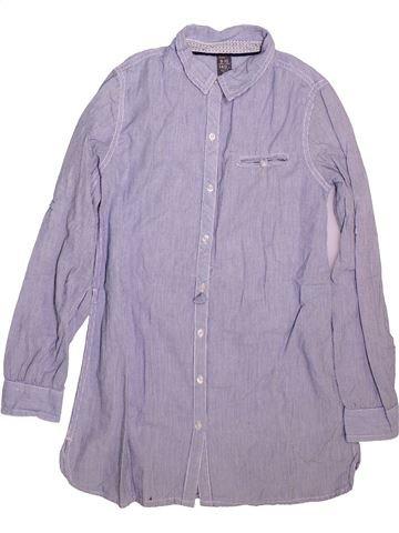Chemise manches longues garçon ZARA violet 10 ans hiver #1511817_1