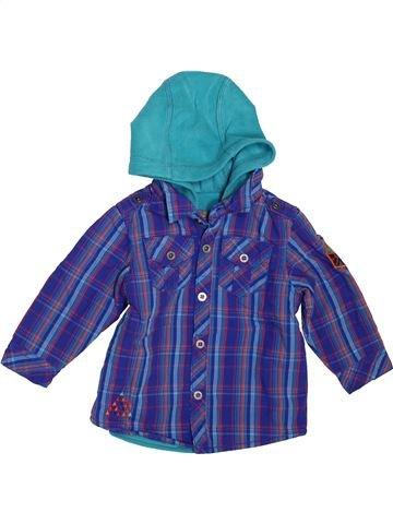 Chemise manches longues garçon ORCHESTRA bleu 6 mois hiver #1511851_1