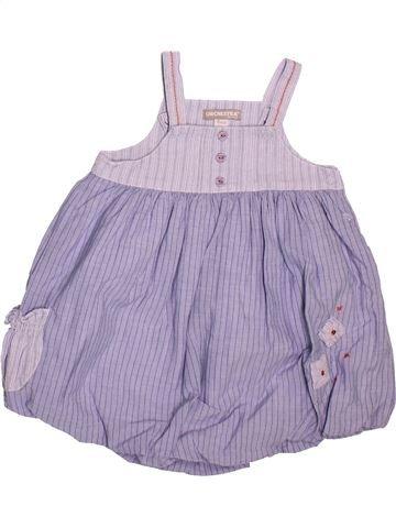 Robe fille ORCHESTRA violet 6 mois été #1511903_1