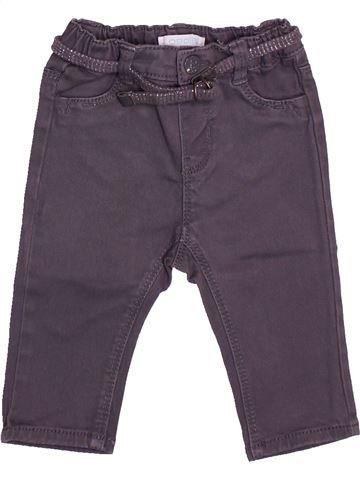 Pantalon fille OBAIBI violet 6 mois été #1511913_1