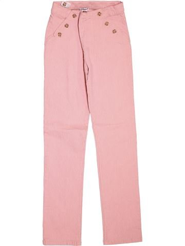 Pantalón niña CYRILLUS rosa 12 años verano #1511986_1
