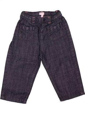 Pantalón niña GRAIN DE BLÉ azul 12 meses verano #1512053_1