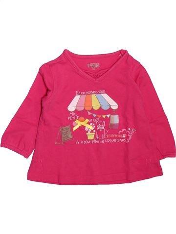 Camiseta de manga larga niña LA COMPAGNIE DES PETITS rosa 12 meses invierno #1512099_1