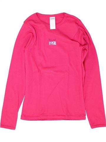 Camiseta de manga larga niña ABSORBA rosa 12 años invierno #1512149_1