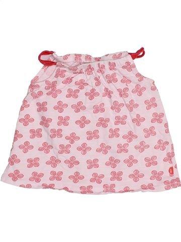 T-shirt sans manches fille OKAIDI rose 12 mois été #1512954_1
