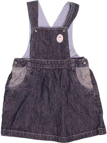 Vestido niña AUBISOU gris 2 años verano #1513098_1