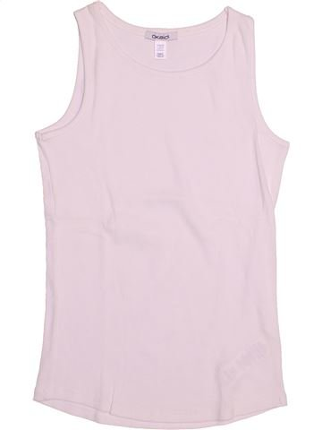 T-shirt sans manches fille OKAIDI rose 12 ans été #1513161_1
