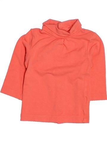 T-shirt col roulé fille KIABI rose 3 mois hiver #1513300_1