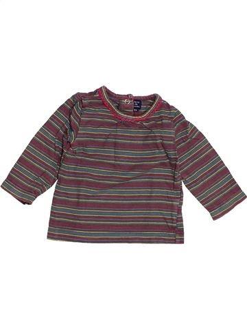 T-shirt manches longues fille TERRE DE MARINS gris 6 mois hiver #1513850_1