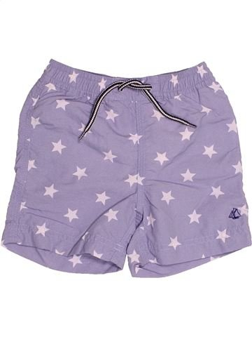Maillot de bain garçon PETIT BATEAU violet 12 mois été #1514785_1