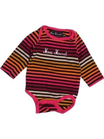 T-shirt manches longues fille LITTLE MARCEL marron 3 mois hiver #1515195_1