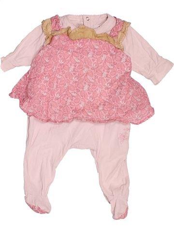 Pyjama 1 pièce fille KENZO rose 1 mois été #1515950_1