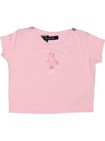 Camiseta de manga corta niña LILI GAUFRETTE rosa 3 meses verano #1517156_1