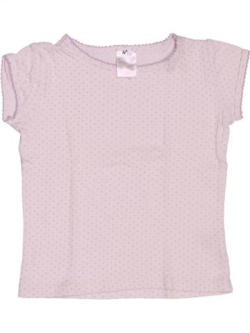 Camiseta de manga corta niña LA REDOUTE CRÉATION blanco 2 años verano #1517610_1