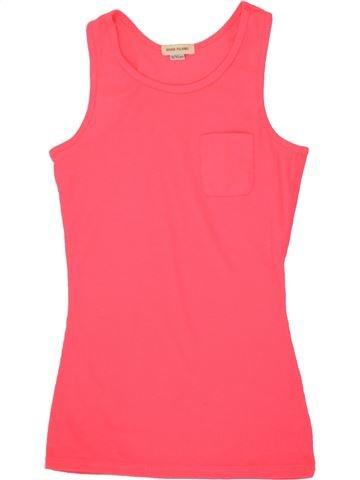 T-shirt sans manches fille RIVER ISLAND rose 10 ans été #1517980_1