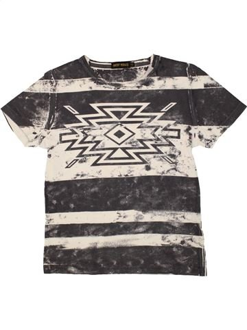 T-shirt manches courtes garçon ANTONY MORATO blanc 12 ans été #1518252_1
