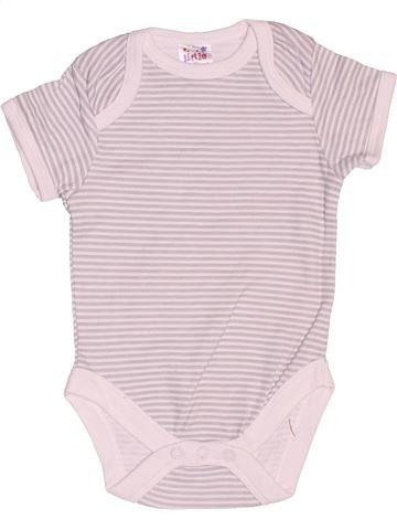 T-shirt manches courtes unisexe LITTLE BUT LOUD violet 6 mois été #1519618_1