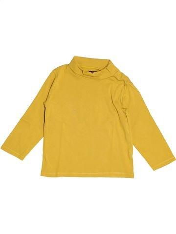 T-shirt col roulé garçon KIABI jaune 4 ans hiver #1520417_1
