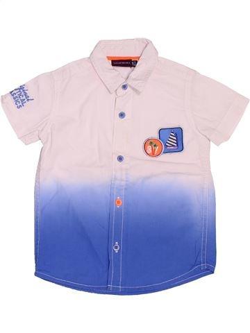 Chemise manches courtes garçon SERGENT MAJOR bleu 2 ans été #1520662_1