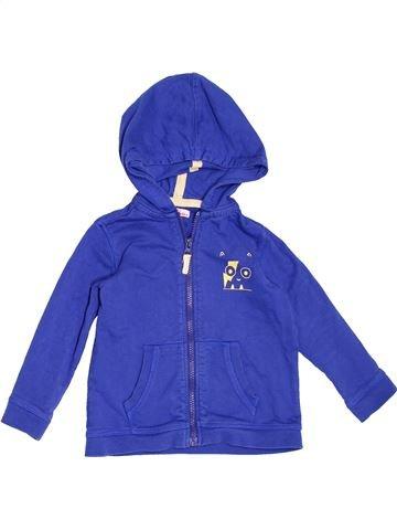 Sweat garçon DPAM bleu 3 ans hiver #1520863_1