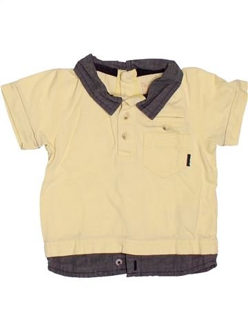Polo de manga corta niño TIMBERLAND amarillo 6 meses verano #1520911_1