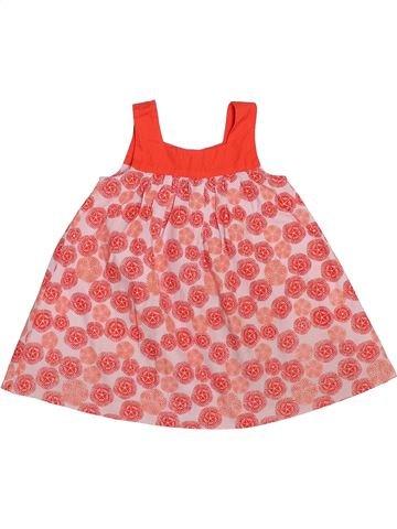 Robe fille OKAIDI rose 6 mois été #1520972_1