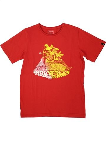 Camiseta de manga corta niño QUIKSILVER rojo 10 años verano #1520983_1