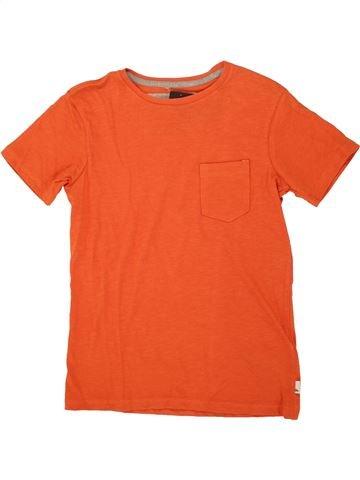 T-shirt manches courtes garçon QUIKSILVER orange 10 ans été #1520987_1