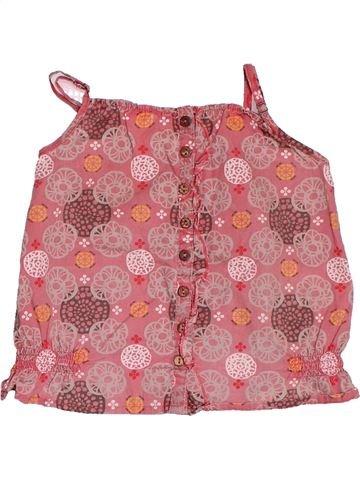 Blusa de manga corta niña VERTBAUDET rosa 2 años verano #1521259_1