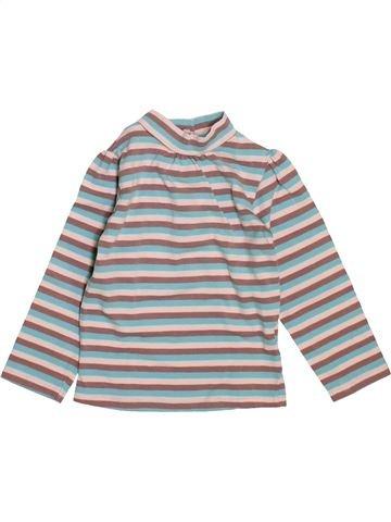T-shirt manches longues fille DPAM gris 18 mois hiver #1521531_1