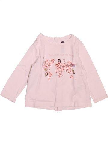 T-shirt manches longues fille SERGENT MAJOR rose 9 mois hiver #1521627_1