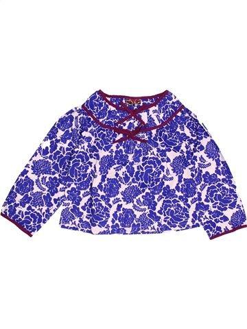 Blouse manches longues fille DPAM violet 5 ans hiver #1522018_1