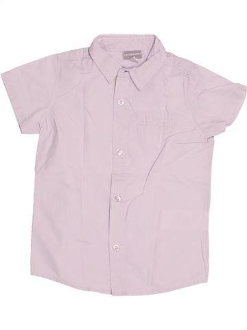 Camisa de manga corta niño VERTBAUDET blanco 3 años verano #1522112_1