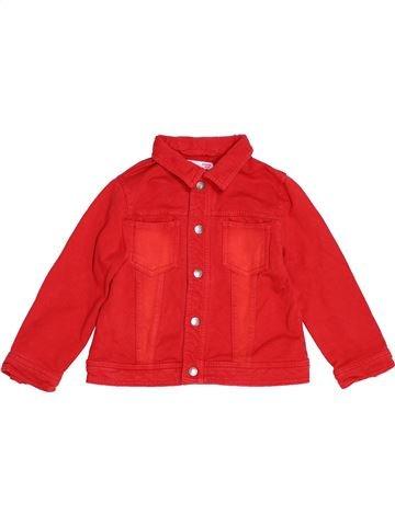 Veste fille DPAM rouge 2 ans hiver #1522206_1