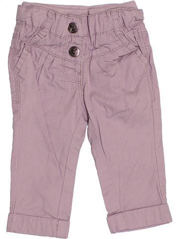 Pantalon fille TAPE À L'OEIL beige 3 mois hiver #1522732_1