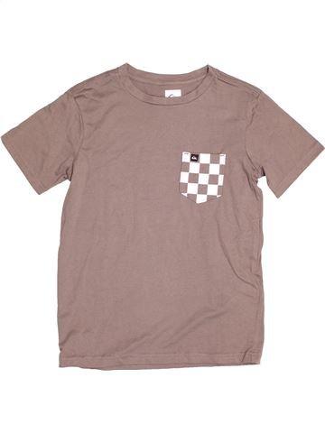 T-shirt manches courtes garçon QUIKSILVER rose 8 ans été #1523048_1