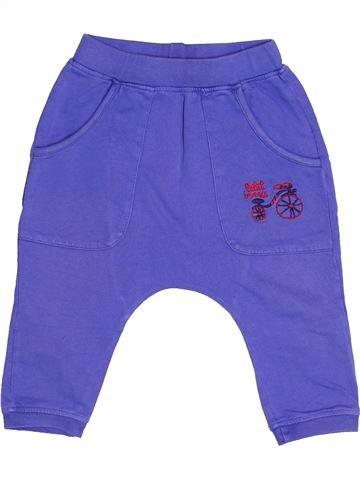 Pantalon garçon PAMP'LUNE violet 12 mois hiver #1523203_1