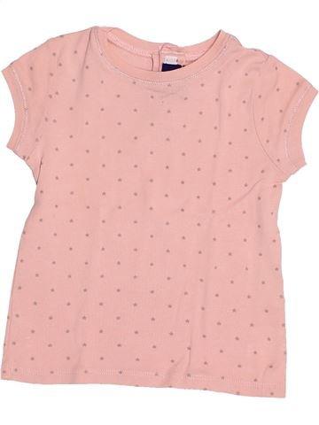 T-shirt manches courtes fille SERGENT MAJOR rose 3 ans été #1523249_1
