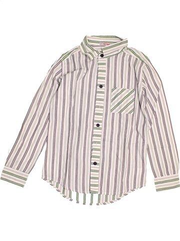 Chemise manches longues garçon CLAYEUX blanc 10 ans hiver #1523265_1