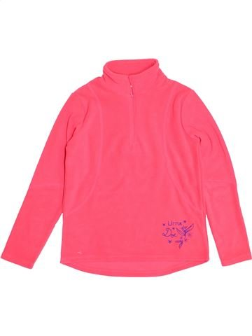 Pull fille DPAM rose 10 ans hiver #1523590_1