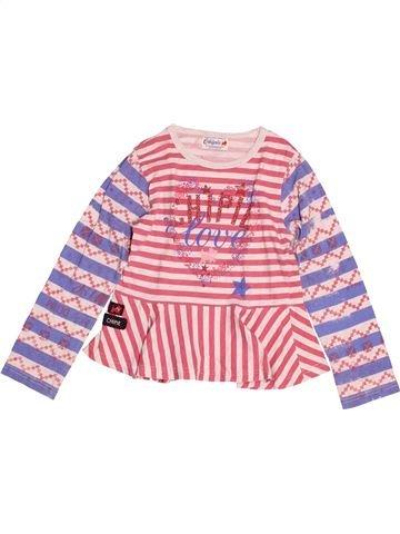 T-shirt manches longues fille CHIPIE rose 5 ans hiver #1523970_1