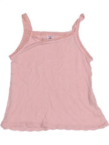 T-shirt sans manches fille PETIT BATEAU rose 4 ans été #1524136_1