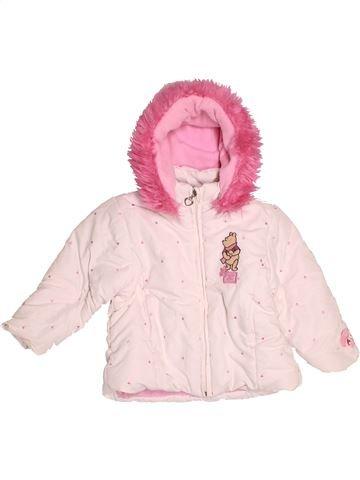 Manteau fille DISNEY blanc 2 ans hiver #1524155_1