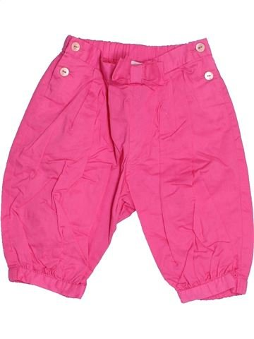 Pantalón niña JACADI rosa 3 meses verano #1524263_1