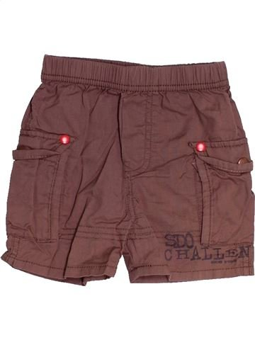 Short - Bermuda garçon SUCRE D'ORGE marron 12 mois été #1525042_1