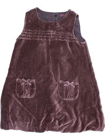 Robe fille GRAIN DE BLÉ violet 18 mois hiver #1525122_1