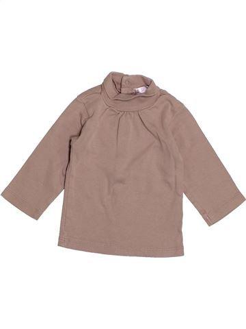 T-shirt col roulé fille KIABI rose 9 mois hiver #1525364_1