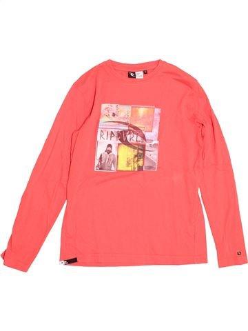 T-shirt manches longues garçon RIP CURL rose 12 ans hiver #1525547_1