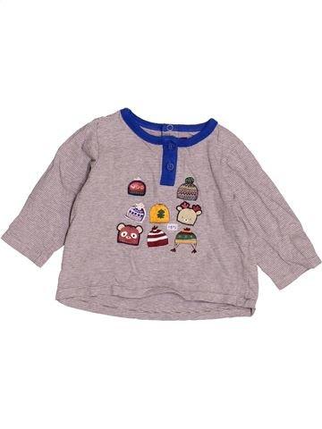T-shirt manches longues garçon SERGENT MAJOR rose 12 mois hiver #1525580_1
